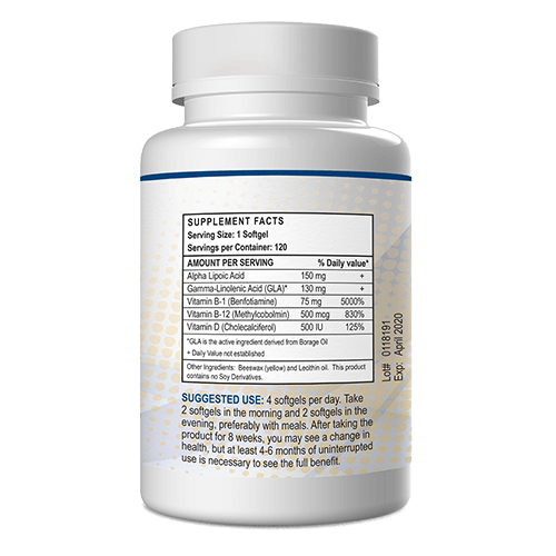 Nutrinerve 120 softgels